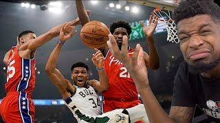 Sixers Year Is OVER IM SORRY! Philadelphia 76ers vs Milwaukee Bucks - Full Highlights
