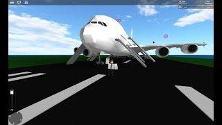Emirates A380 | Flight to Los Angeles, California! | ROBLOX