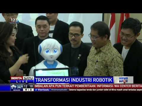Kemkominfo Gelar Konpers Tranformasi Robotik dalam Revolusi Industri 4.0