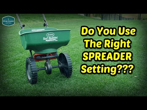 Fertilizer Spreader Settings | How To Calibrate Spreader For Milorganite And Other Fertilizers
