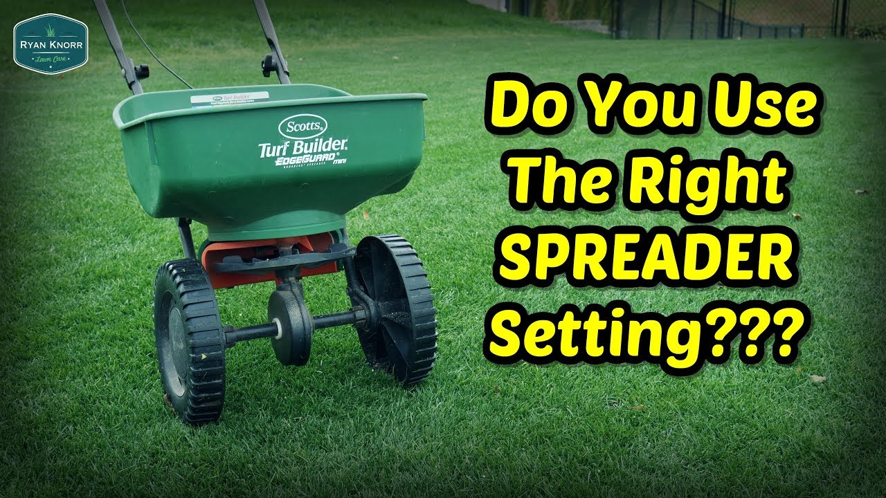 Spreader Settings Conversion Chart