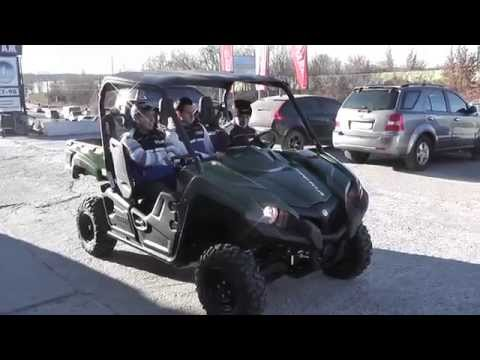 Квадроцикл Yamaha Viking видео