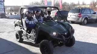 Квадроцикл Yamaha Viking видео(Купить Yamaha Viking можно в Украине салонах