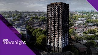 Memorialising Grenfell Tower – BBC Newsnight