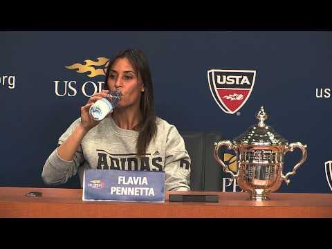 U.S. OPEN 2015: Womens Finals Champion, Flavia Pennetta ( In Italian )