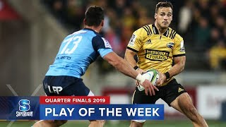 PLAY OF THE WEEK | Super Rugby 2019 Quarter Finals