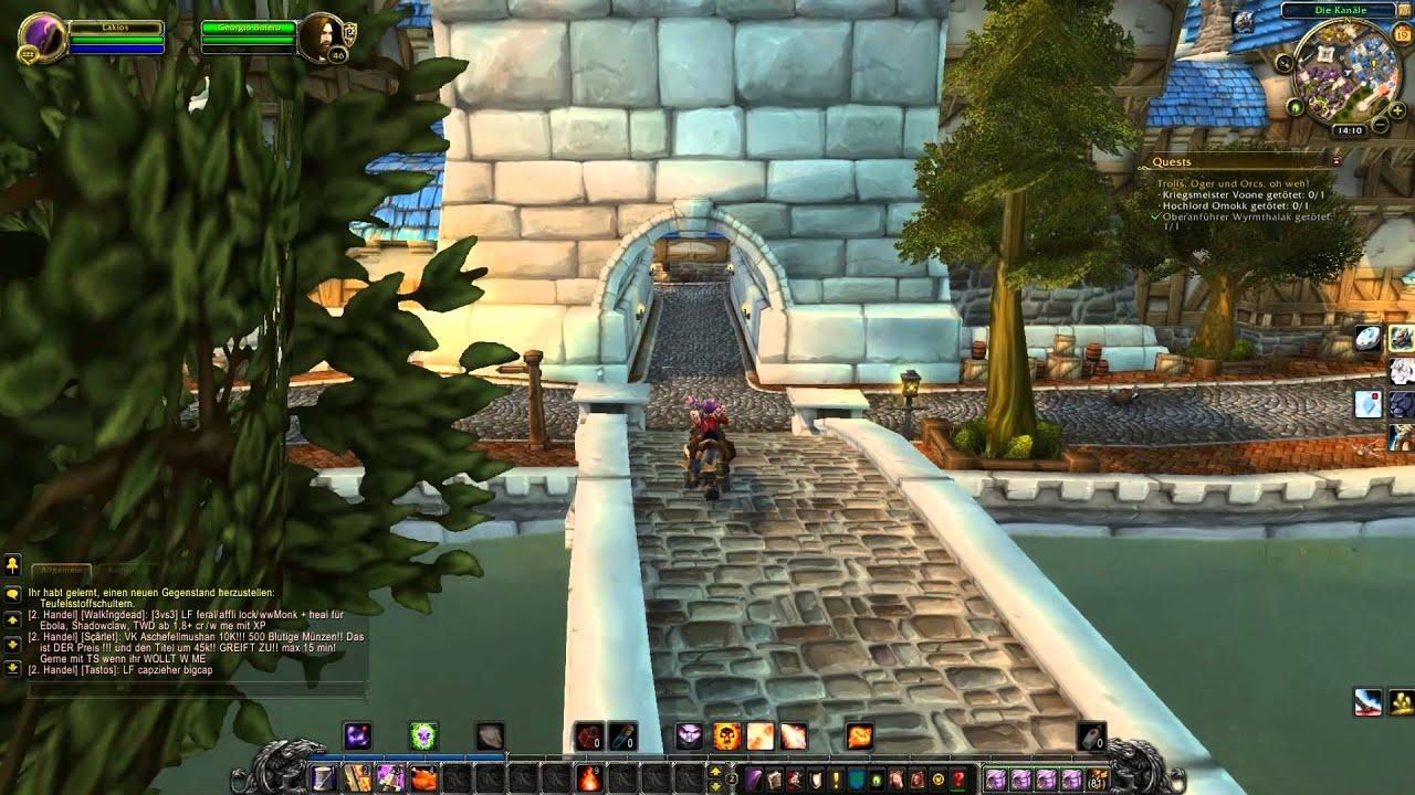 World Of Warcraft Deutsch 73 Dungeon Untere Schwarzfelsspitze