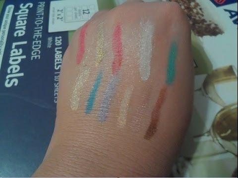 My Beauty Bath Product Demo: Geek Theme Eye Shadow Test.