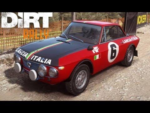 DIRT RALLY #2 -  Lancia Fulvia HF | Rally REAL de Aventura