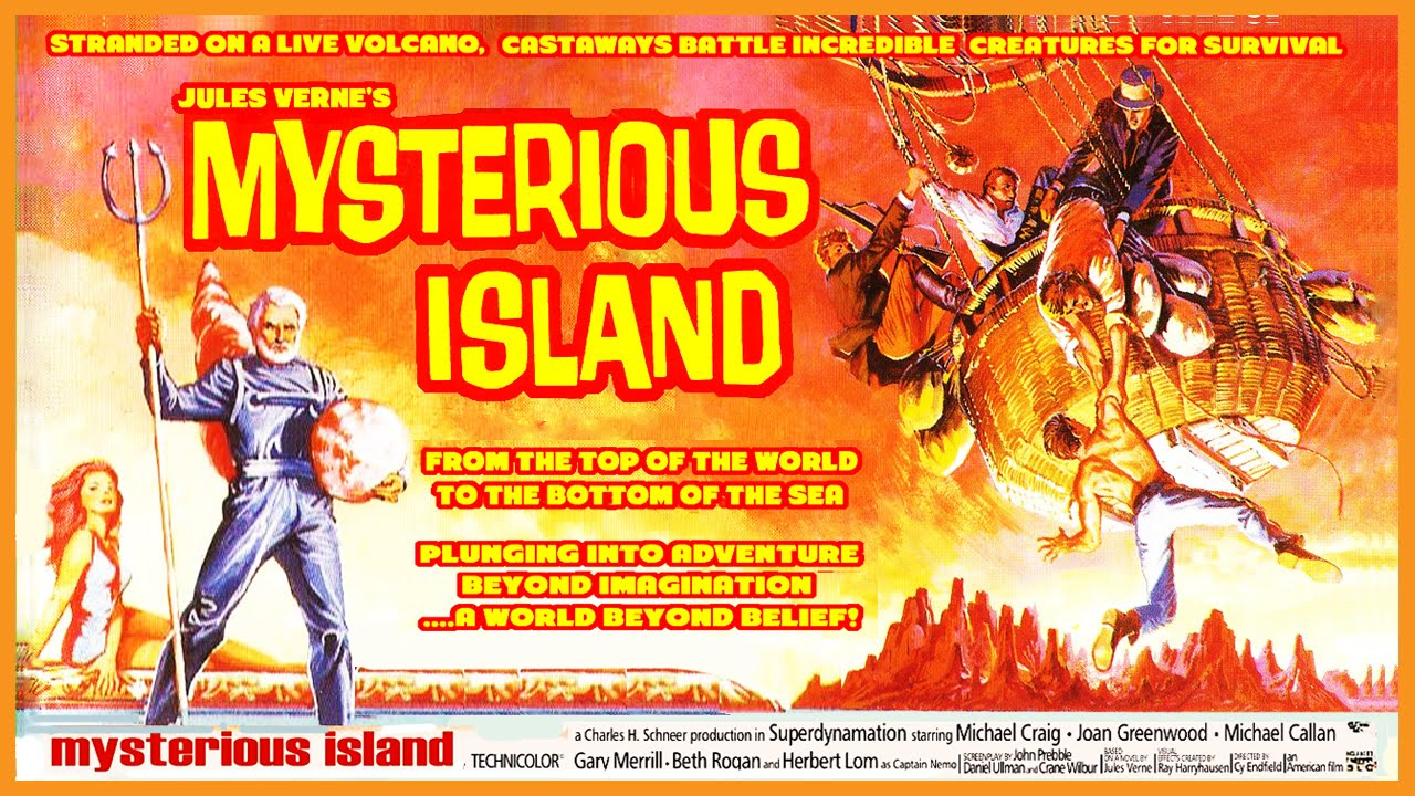 Image result for images of 1961 mysterious island