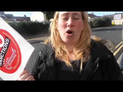 107 News - 20160309 123337   sanctions, job centre, interview angie's army