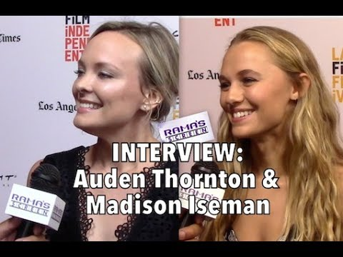 My LAFF2017 Red Carpet  with Auden Thornton & Madison Iseman  'BEAUTY MARK'