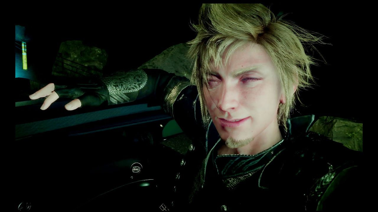 Old Noctis Ffxv: Final Fantasy XV Old Prompto Sharing With Noctis