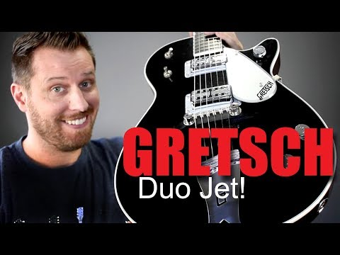 NEW GUITAR DAY!! - Unboxing an AMAZING Gretsch Duo Jet!