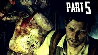 The Evil Within Walkthrough Gameplay Part 5 - The Sadist Chainsaw Boss (PS4)
