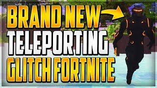 GLITCHES FORTNITE BR - NEW TELEPORTING GLITCH WALLBREACH IN FORTNITE BATTLE ROYALE