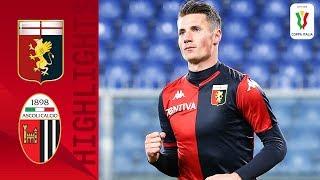 Genoa 3-2 Ascoli | Pinamonti hits a Brace as Genoa Edge 5-Goal Thriller! | Round 4 | Coppa Italia
