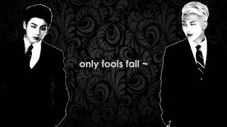 Fools [ Karaoke sing with Namjoon & Jungkook ]