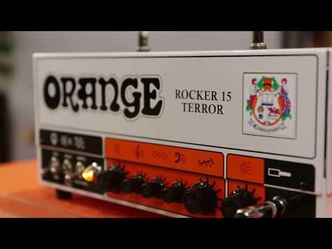 Orange Amplifiers Rocker 15 Terror 15 Watt Tube Guitar Amplifier Head