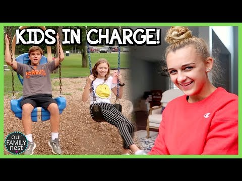 TEENS IN CHARGE! PARENTS CAN'T SAY NO FOR 24 HOURS!
