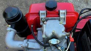 РЕГУЛЮВАННЯ зазорів клапанів двигуна мотоблока''ХОПЕР 1100 9ДС МQ''