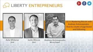 LE13: Andreas M. Antonopoulos - Mastering Bitcoin - How einer Großen Marke und Folgende