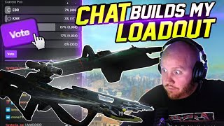 CHAT BUILDS MY LOADOUT IN WARZONE!