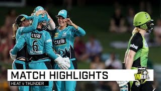 Mooney smashes ton as Heat beat Thunder | Rebel WBBL|04