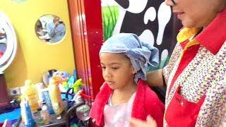 Cuci Potong Rambut Salon Anak || Kiddy Cuts || Kids Haircut