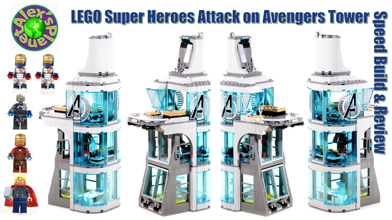 LEGO Super Heroes 76038 Attack on Avengers Tower Speed ...