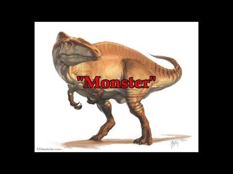 Acrocanthosaurus Tribute - Monster