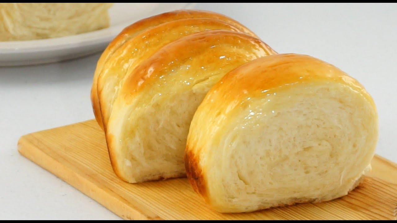 Soft And Fluffy Condensed Milk Bread Youtube In 2020 Bread Condensed Milk Milk Bread Recipe