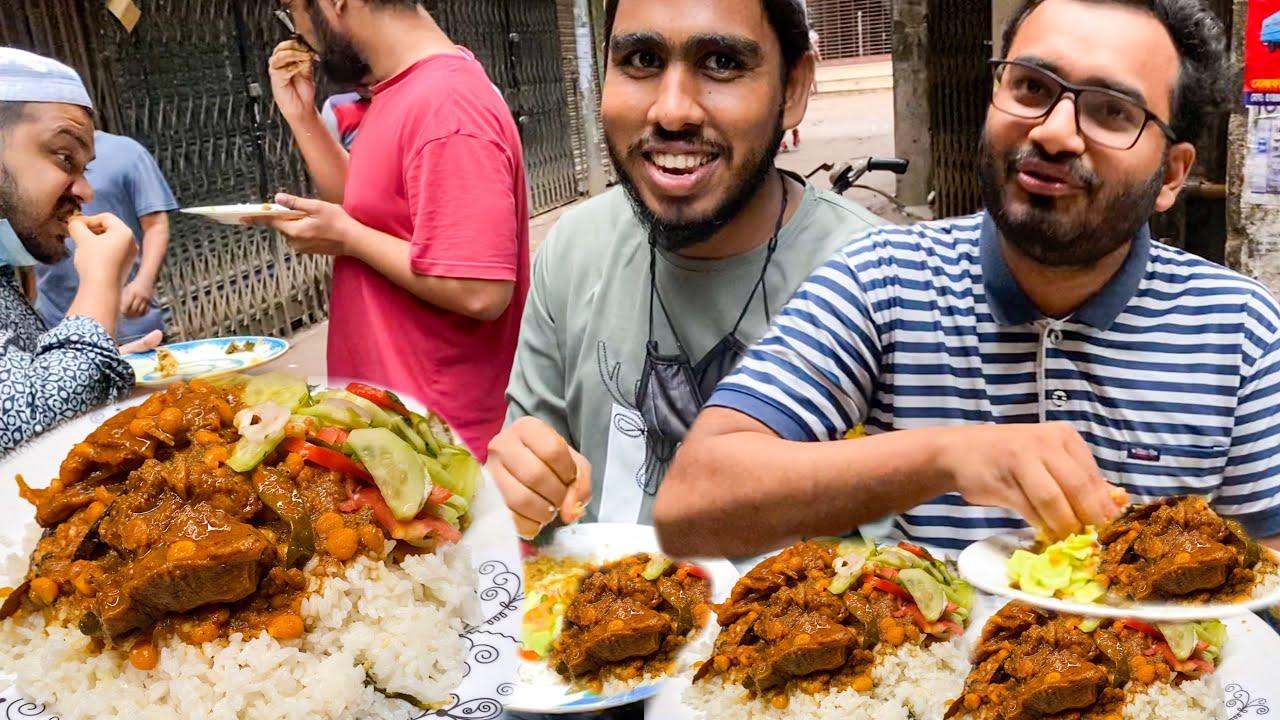 Manik Chan er Pulao Gosht - Spicy Mutton Curry & Polao - Digu Babu Lane, Puran Dhaka