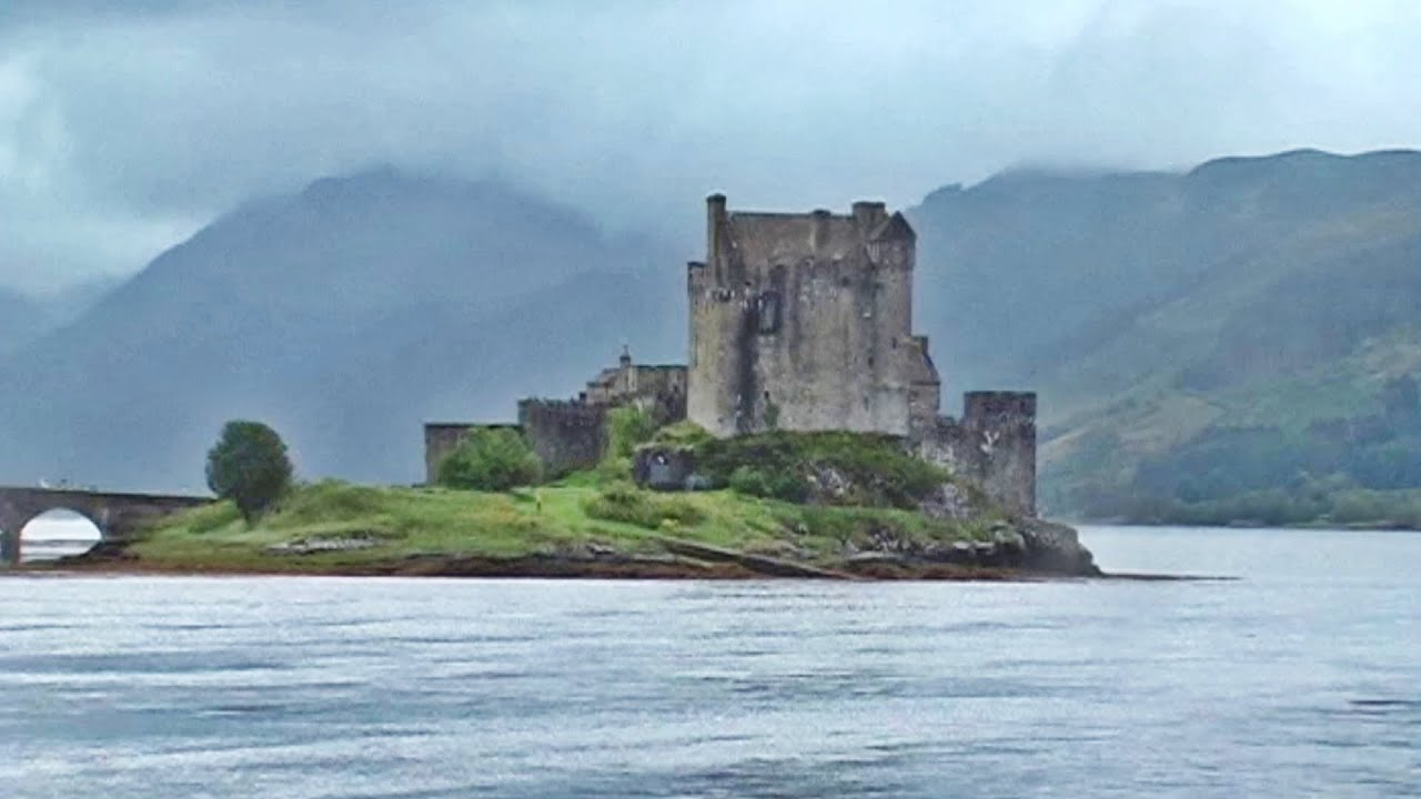 Eilean Donan Castle Highlander Movie Film Location Youtube
