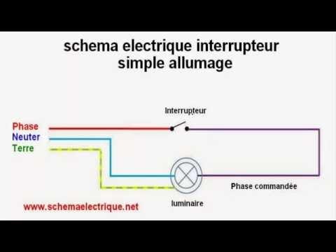 Schema electrique de simple allumage doovi - Schema electrique simple allumage ...