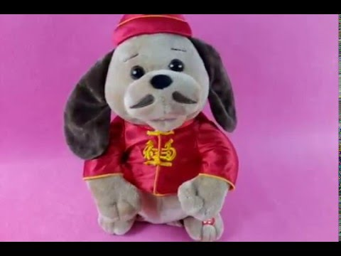 Singing and dancing musical toy MARTIN THE DOG (SDZ07)
