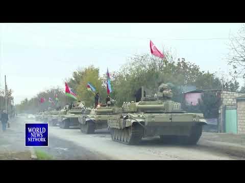 #Karabağ da tanklar Üzerinde #Azerbaycan #Türk Bayrakları