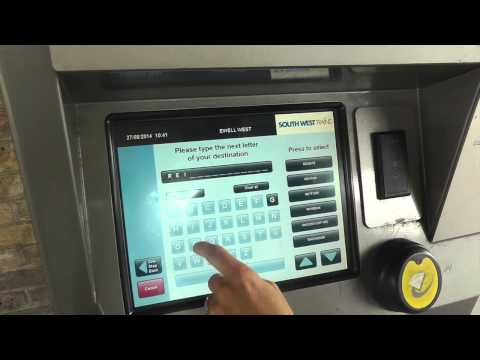 Buying a PLUSBUS Ticket from a Ticket Machine