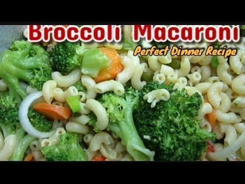 Broccoli Macaroni Recipe Recipes By Ena Youtube