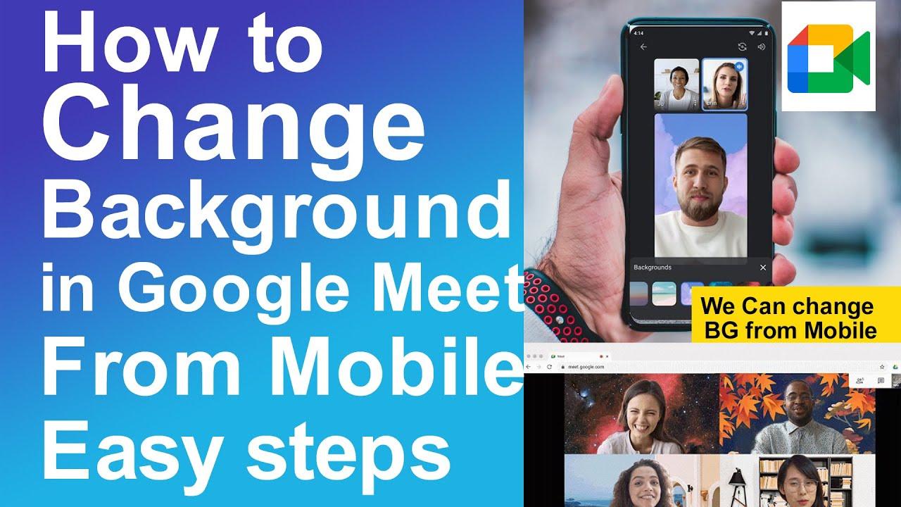 How to Make google meet full screen on phone - YouTube