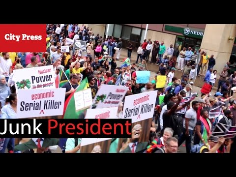 #AntiZuma March in Pretoria