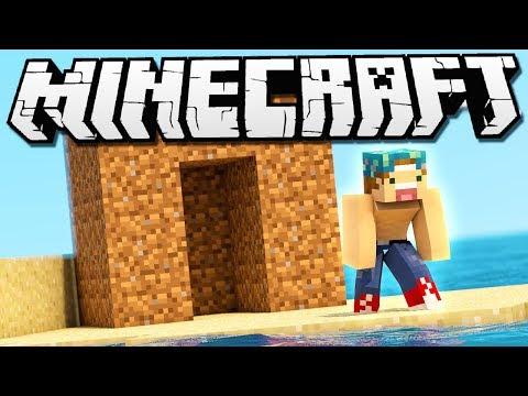 BUILDING A STRANDED ISLAND! | Minecraft Build Battle