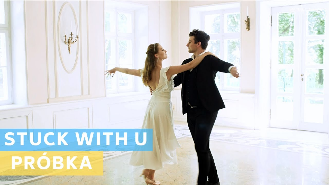 Sample Tutorial PL: Ariana Grande & Justin Bieber - Stuck with U | Wedding Dance Choreography |