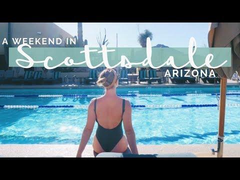 A WEEKEND IN SCOTTSDALE, ARIZONA   Wander Wealthy Travel Vlog