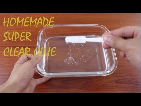 How to make PVA Glue at home - Make easy clear glue for slime ingredient