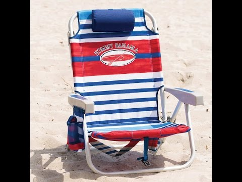 tommy bahama cooler chair modern swivel lounge chairs backpack youtube