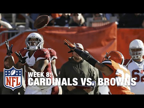 Carson Palmer Finds Michael Floyd Deep for a 60-Yard TD! | Cardinals vs. Browns | NFL