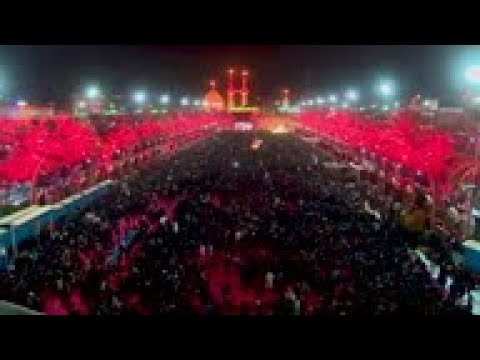 Shia Muslims celebrate Ashoura in Karbala