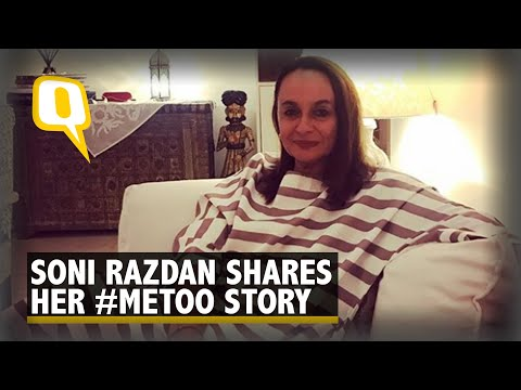 Exclusive: Soni Razdan's #MeToo Moment and Why She Didn't Report
