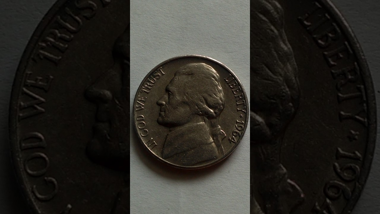 Jefferson Nickel De 1964 D